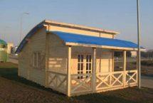 ARCHE 40 - toit arrondie - atypique - chalet