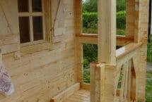 sous bois 62m², maison bois, chalet, terrasse