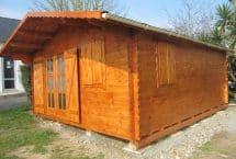 Economique 25m² - chalet - bois massif