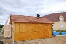 garage kit sur mesure bois voiture
