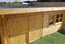 Kernevest abri garage sur mesure bois massif