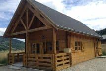 LOUNGE 78m² mezzanine chalet bois massif