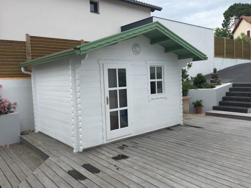 Cocon, abri de jardin, remise, annexe, kit bois