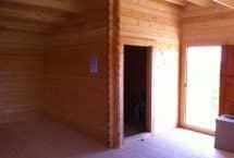 Caméléon, 60m², bois massif, chalet