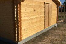 loft 72m², bois massif, plain pied