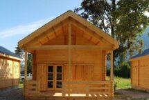 lounge, chalet, bois massif, l'européenne de chalets