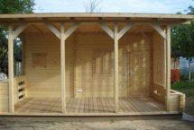 pool house, bureau, sauna, abri de jardin