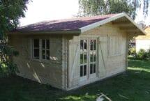 Modèle Ushuaia, 20 m², abri de jardin, Européenne de chalets
