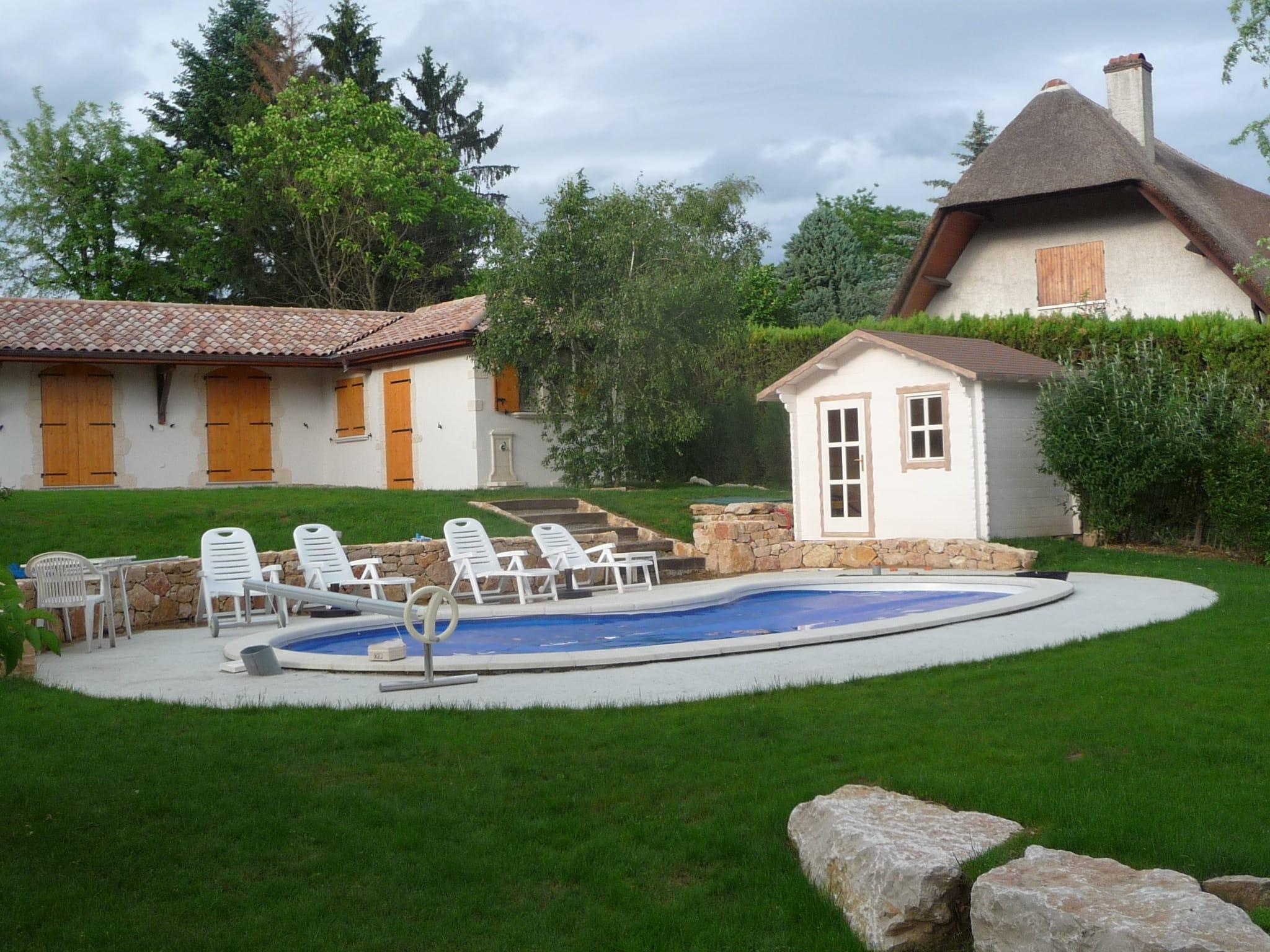 Modèle Hoedic 6m², abri de jardin - abri de piscine - local technique