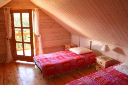 sous bois 62m², maison bois, chalet