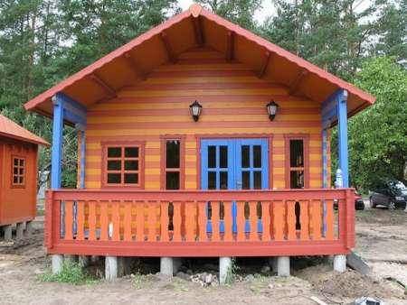 cottage, duplex, 42m², bois, camping