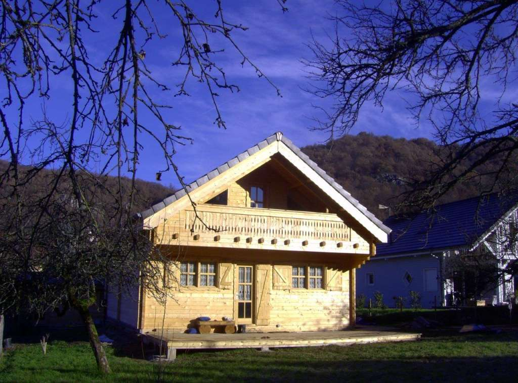 edelweiss, chalet, maison, sur mesure, bois, l'Européenne de chalets