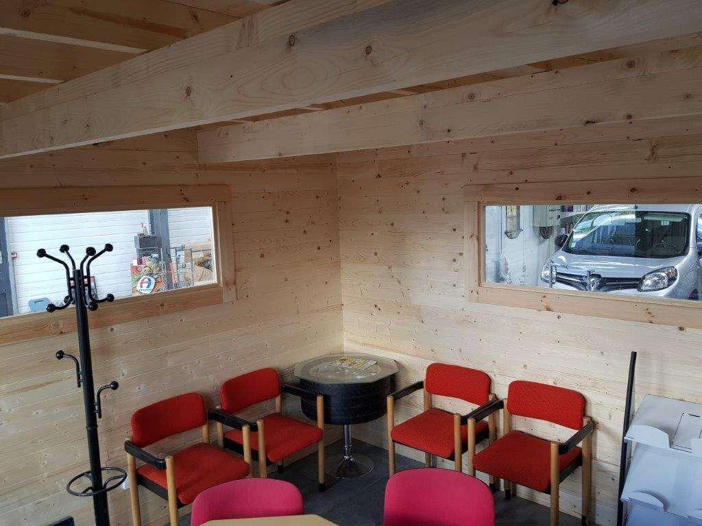 bureau entrepôt sur mesure entreprise bois massif