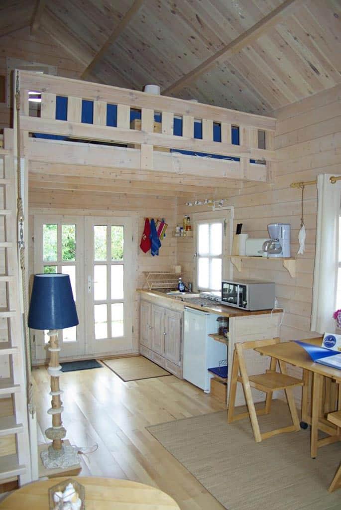 Ushuaia 30m² mezzanine 8m² chalet